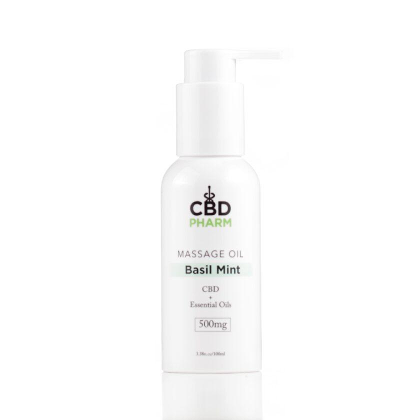 Basil Mint Massage Oil