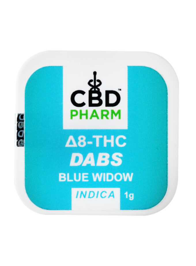 CBD Pharm Blue Widow Indica Delta 8 Concentrate - 1g