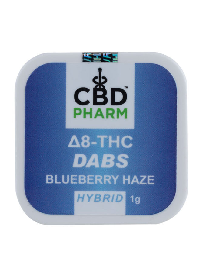 CBD Pharm Blueberry Haze Hybrid Delta 8 Concentrate - 1g