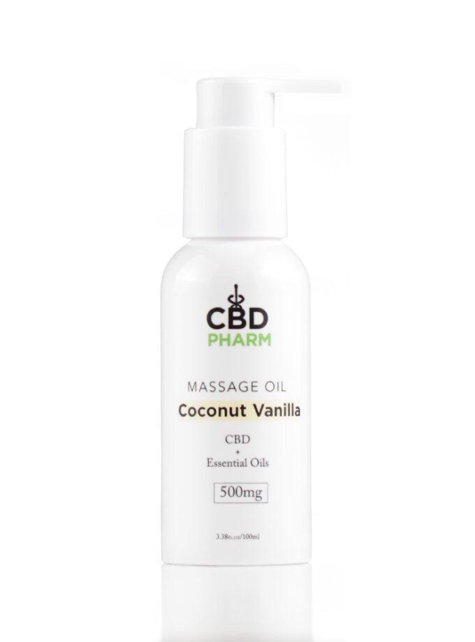 Coconut Vanilla Massage Oil