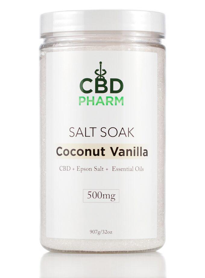 Coconut Vanilla Salt Soak