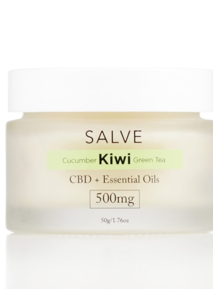 Cucumber Kiwi Green Tea Salves