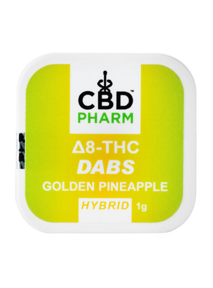 CBD Pharm Golden Pineapple Hybrid Delta 8 Concentrate - 1g