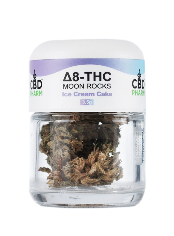 CBD Pharm Ice Cream Cake Delta 8 THC Moon Rocks