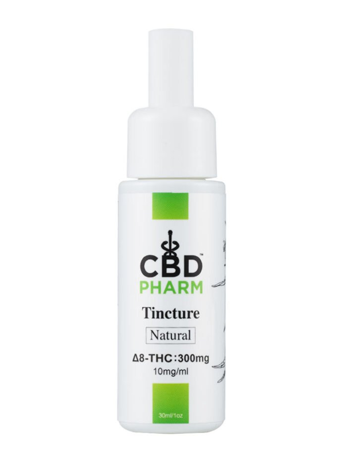 CBD Pharm Natural Delta 8 Tincture - 300mg