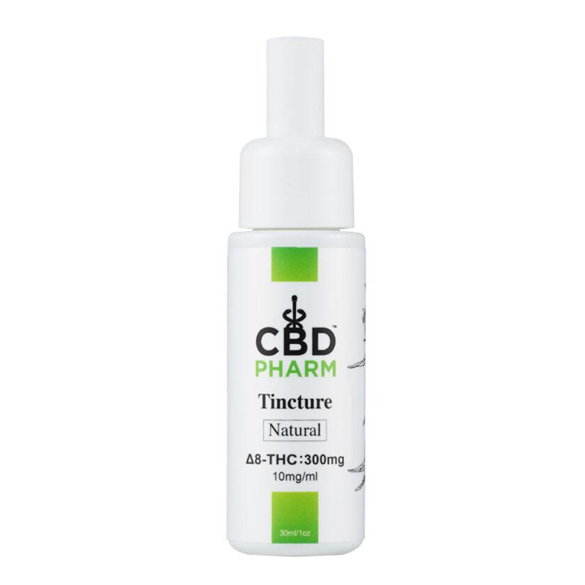 CBD Pharm Natural Delta 8 Tincture - 300mg