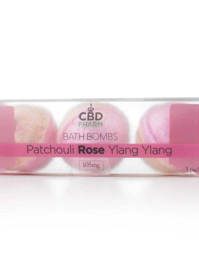 Pachouli Rose Ylang Ylang Bath Bombs