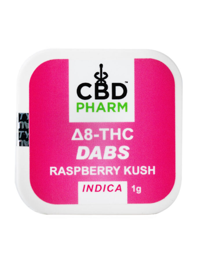 CBD Pharm Raspberry Kush Indica Delta 8 Concentrate