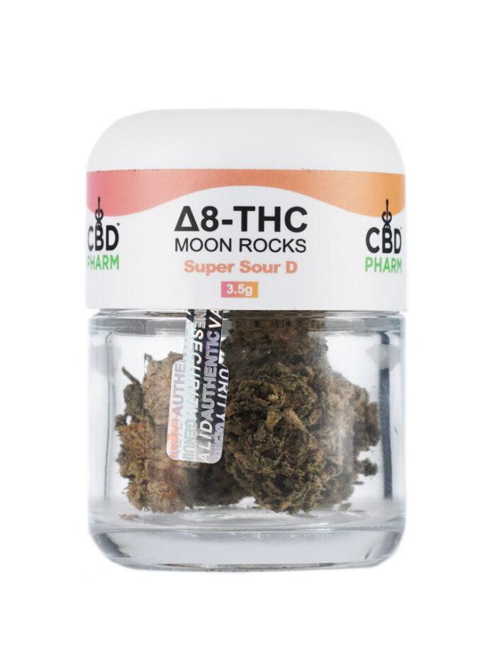 CBD Pharm Super Sour D Delta 8 THC Moon Rocks