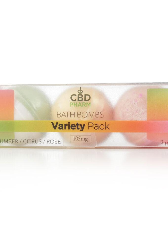 CBD Pharm Variety Pack Bath Bombs - 6oz 105mg