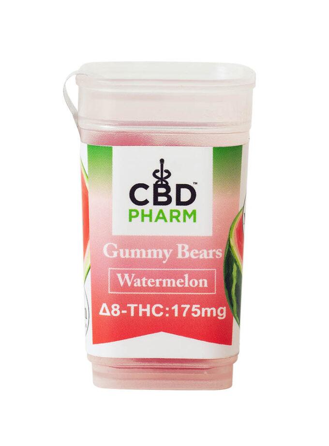 CBD Pharm- Watermelon Delta 8 Gummy Bears