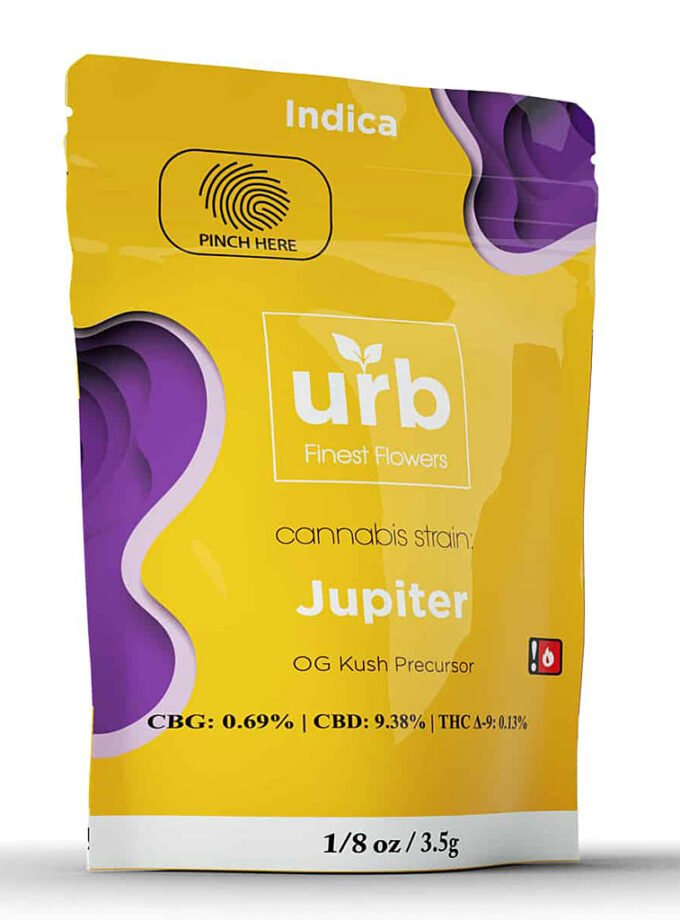 URB CBD Jupiter Indica Package - 3.5g