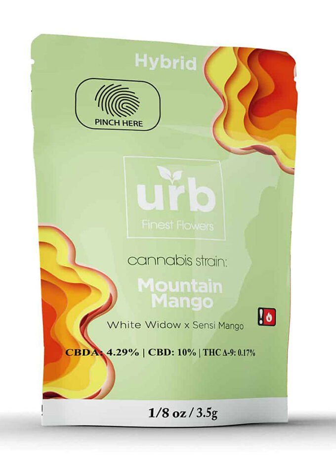 URB CBD Mountain Mango Hybrid Package - 3.5g