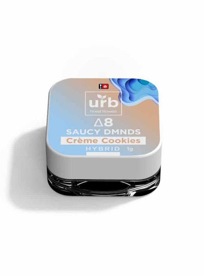 Urb Crème Cookies Hybrid Delta 8 THC Saucy Dmnds