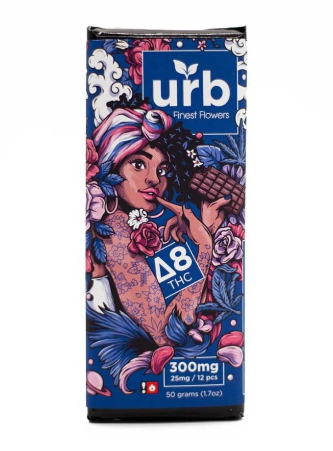 Urb Delta 8 THC Dark Chocolate