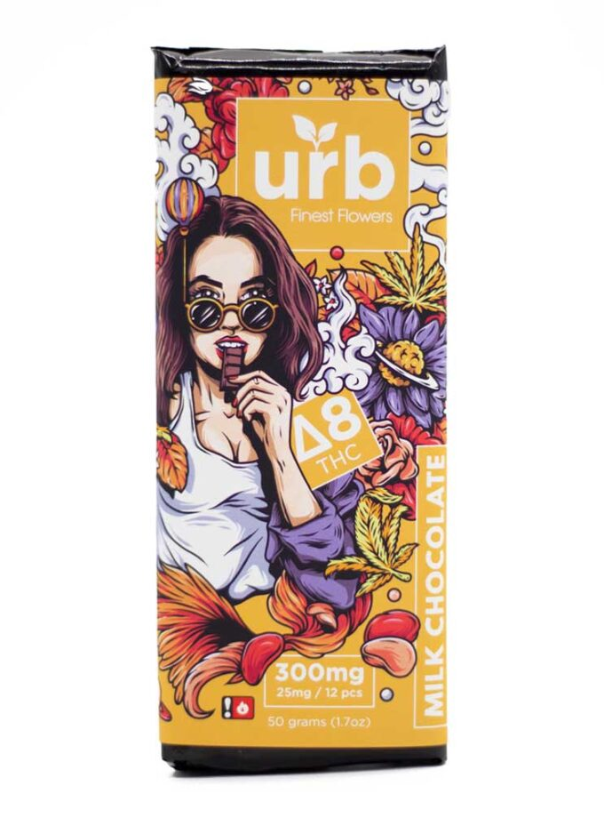 Urb Delta 8 THC Milk Chocolate