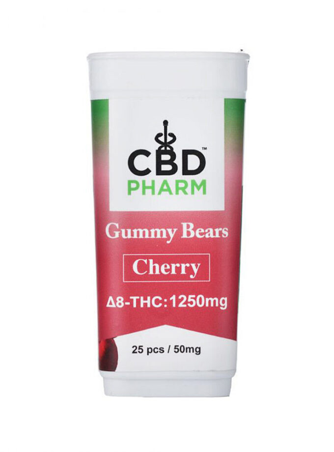 Cherry Delta 8 THC Gummy Bears