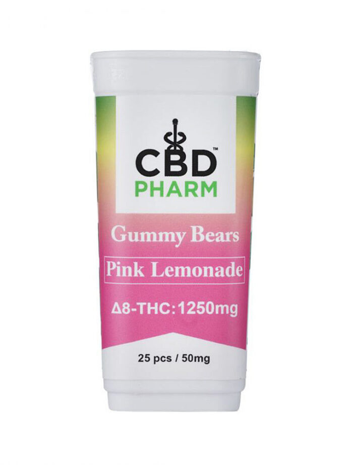 Pink Lemonade Delta 8 THC Gummy Bears