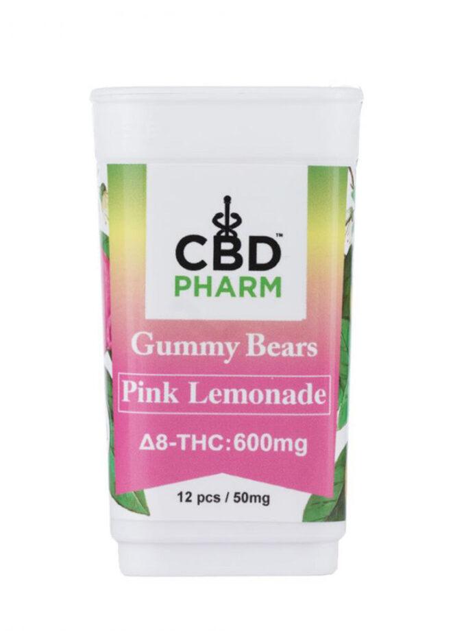 Pink Lemonade Delta 8 THC Gummy Bears