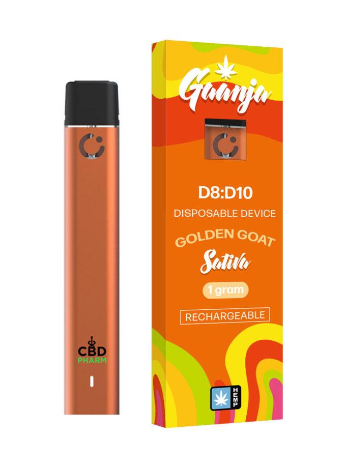 Gaanja Golden Goat Sativa Delta 8