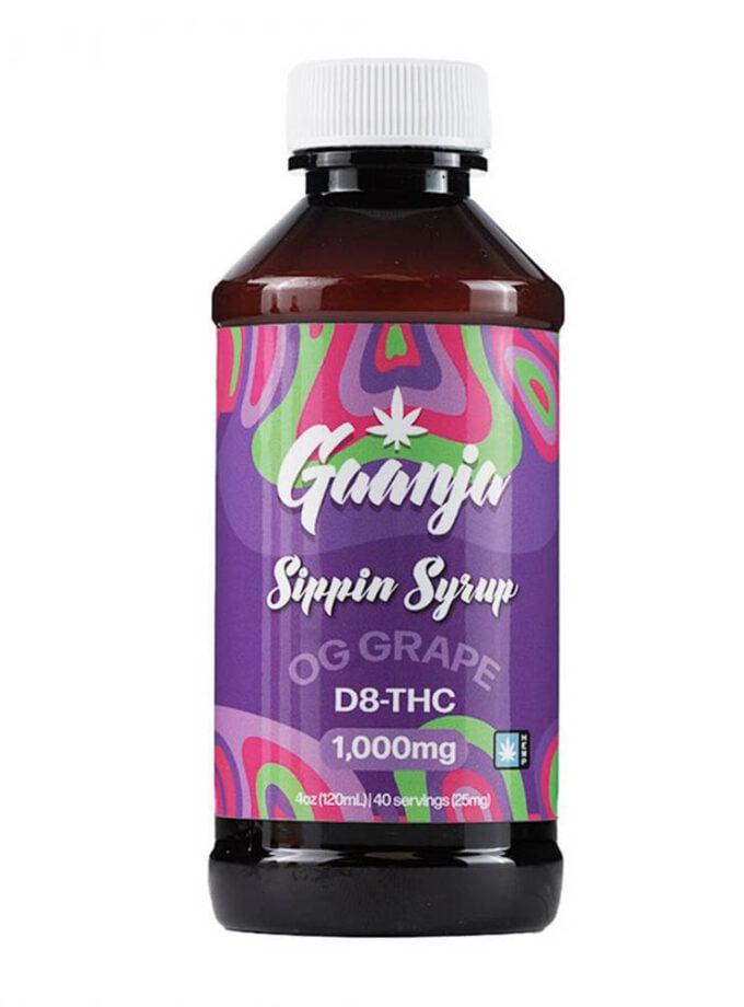 Gaanja OG Grape Delta 8 THC Sippin Syrup